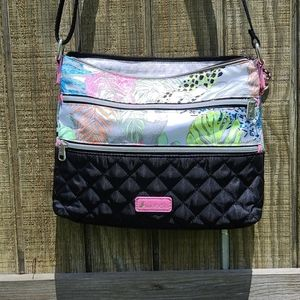 Sakroots neon animal print crossbody